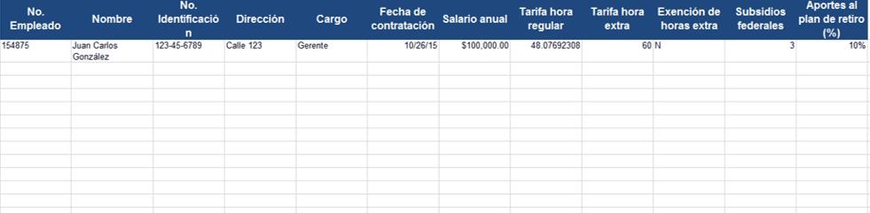 Plantillas gratis de Recursos Humanos en Excel