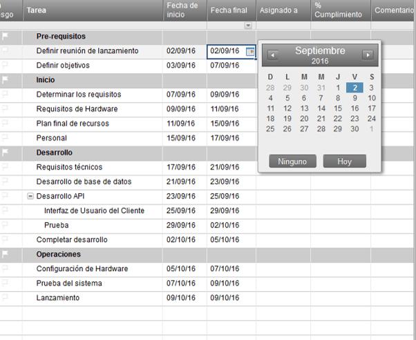 Use Esta Plantilla Gratis De Plan De Proyecto De Excel
