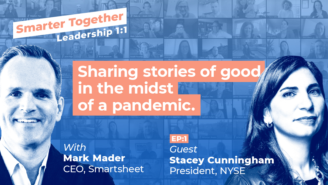 Smarter Together, Episode 1: Mark Mader and Stacey Cunningham