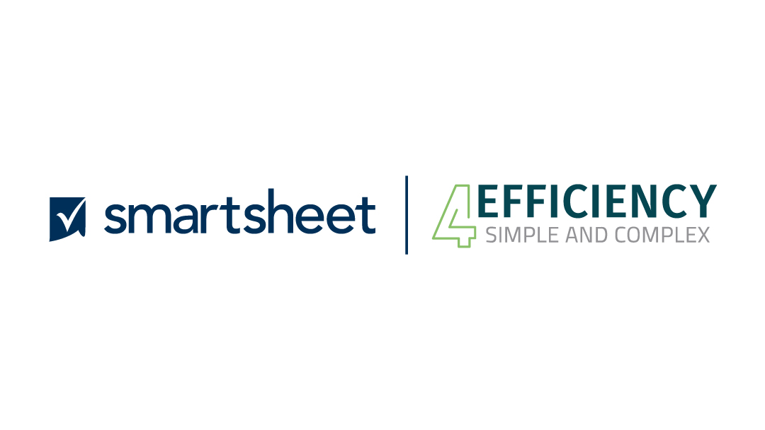 Smartsheet and 4EF logos