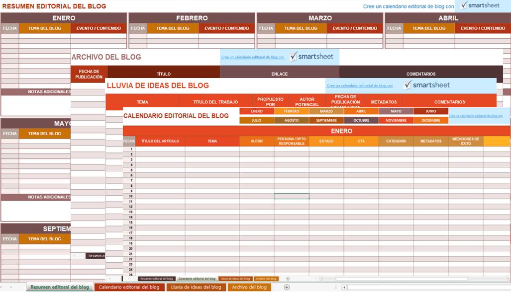 Calendario Timing.9 Plantillas De Calendario De Marketing Para Excel Gratis