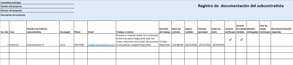 Plantillas Gratis De Excel Para Proy De Construccion