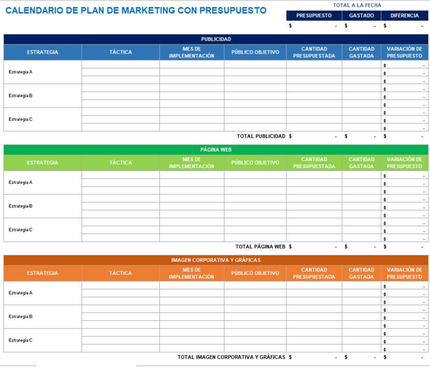 Como Hacer Un Calendario En Word.9 Plantillas De Calendario De Marketing Para Excel Gratis Smartsheet