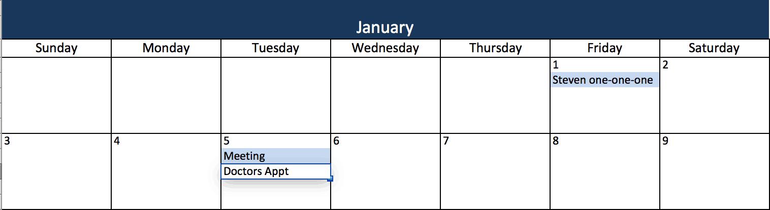 Calendario 2020 Excel Mensual.Plantillas De Calendario En Excel Gratuitas Y Listas Para